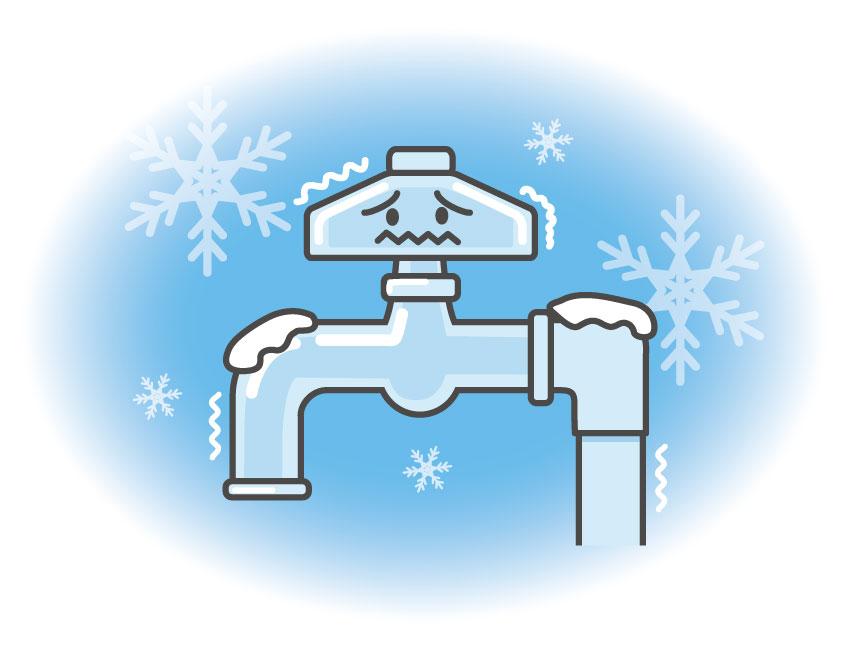水道管が凍結して破裂!火災保険は対象になるの?
